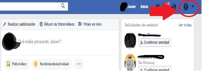 pasos para Eliminar cuenta de Facebook