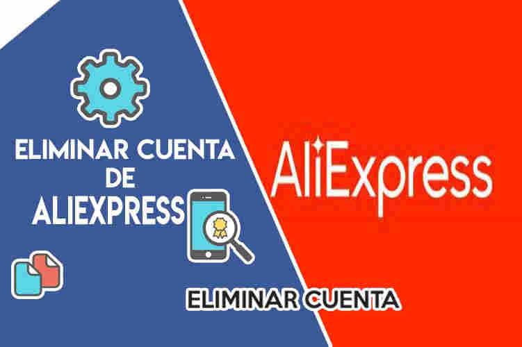 cómo eliminar una cuenta de Aliexpress