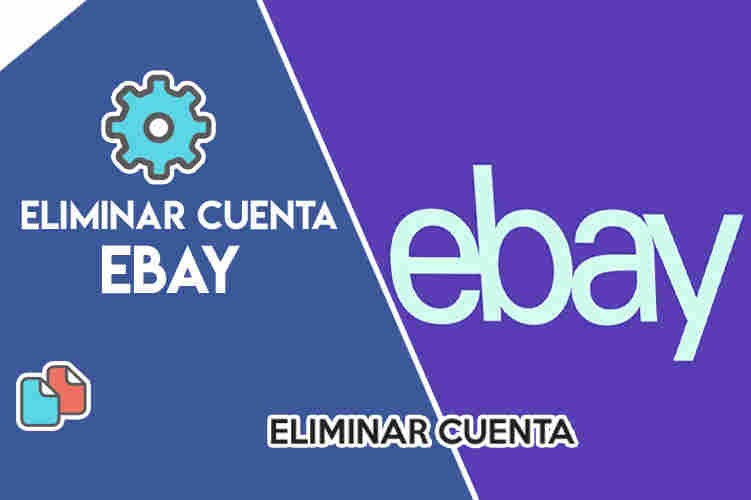 eliminar cuenta ebay